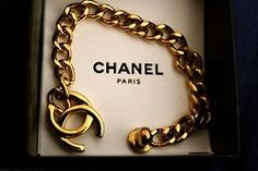 Carla's Boutique: This Chanel bracelet is so classy...