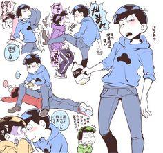 Karamatsu Home Decor home design and decor Related posts: [Boys Love (Yaoi) : / Karamatsu x Ichimatsu (Au … KaraIchi Otaku Anime, Anime Art, Hetalia, Osomatsu San Doujinshi, Villainous Cartoon, Dark Anime Guys, Gekkan Shoujo, Another Anime, Ichimatsu