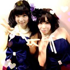 """@mikumonmon's photo: """"ディアステ3rdワンマンありがとうございましたー!ふうりみゆで出演したのです!!!"""""""