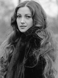 Jane Seymour, Bond girl Solitaire in the James Bond film Live and Let Die.