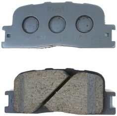 Toyota Genuine Parts 04466-33090 Rear Brake Pad Set. For product info go to:  https://www.caraccessoriesonlinemarket.com/toyota-genuine-parts-04466-33090-rear-brake-pad-set/