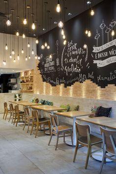 Veganza Barra Shopping - Retail Design I Shop Spaces I Restaurant I Vegan Food I Interior Architecture I Design de Interiores I Projetos Comerciais.