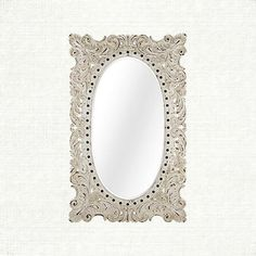 Every hand-carved detail of this mirror is gorgeous. A must for your master!