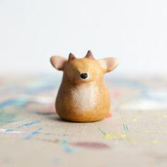 Le Deer Fat-Fat Totem by Le Animalé ... So cute!!