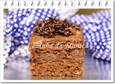 COZINHA DA MONICA: Bolo de chocolate trufado gelado (embrulhado)