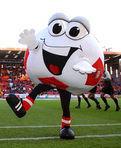 Kickster #football #mascot #costume