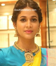 Lavanya Tripathi in Temple Jewellery photo
