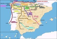 rutas del camino de santiago - Google Search