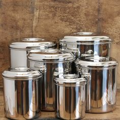 Canister Set-Stainless Steel