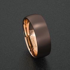 Mens Wedding Band Rare 8mm Dark Espresso Collection Brown Tungsten Et 288379573-13.jpg 1,500×1,500 pixels