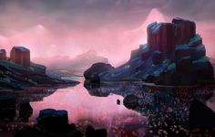 ArtStation - A peaceful place., Justin Spice