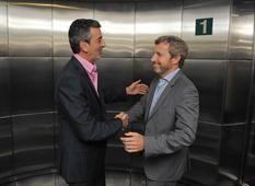 Randazzo y Frigerio, en una reunión cordial 2 de diciembre de 2015