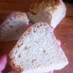 Así quedó el Irish soda bread tradicional, está súper rico y suave!! Además de rápido de hacer, como para hornearlo una vez por semana!!