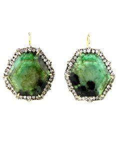 emerald slices & diamonds- lovin' this whole slice thing