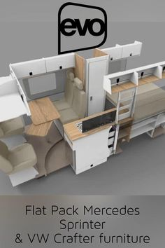 Diy Van Camper, Camper Van Shower, Build A Camper Van, Van Conversion Interior, Camper Van Conversion Diy, Van Interior, Campervan Furniture, Campervan Bed, Campervan Ideas