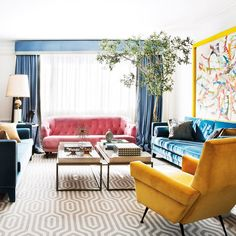 Bold apartment of extravagant architect Jean Porsche in Madrid? Bold apartment of extravagant architect Jean Porsche in Madrid? Decoration Bedroom, Decoration Table, Home Decor Bedroom, Living Room Decor, Bold Living Room, Cozy Living, Living Rooms, Cute Home Decor, Home Decor Styles