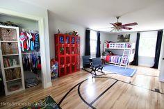 Hello Stripes: Boys' Bedroom {Before & After} Kids Furniture Inspiration, Home Renovation, Diy Projects, Stripes, Organization, Bedroom, Boys, Home Decor, Getting Organized