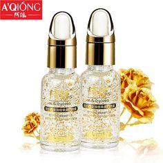 Instantly Ageless 24k Pure Gold Foil Essence Serum Moisturizing Anti-Aging Acne Treament acido hialuronico Whitening Cream