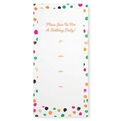 My design inspiration: Cha Cha Birthday Invites 8Pc on Fab.