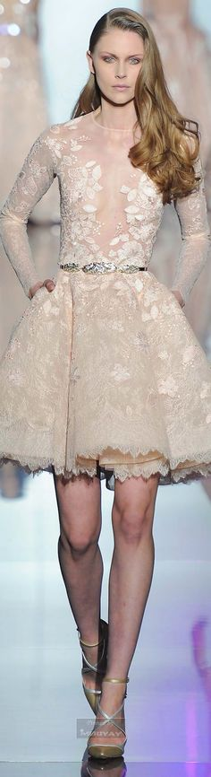 Zuhair Murad.Spring 2015 Couture. Ugh where was this dress six months ago? Aaaack it so would've been my wedding dress.