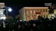 """Γιουχάρανε τον Μιχαλολιάκο στο Άργος: """"Κρατικά σκουλήκια"""" αποκάλεσε τους αστυνομικούς που τον προστάτευαν + @dailymotion Politics, Concert, Recital, Concerts"""