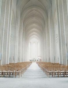 Grundtvig's Church, Copenhagen, Denmark. Architect: Peter Vilhelm Jensen-Klint.