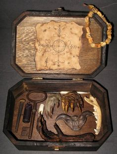 Skull Box VooDoo Spell Kit 2 by ~DETHCHEEZ on deviantART