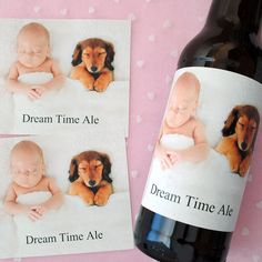 Father's day gift idea; custom beer labels. Make any design online ...