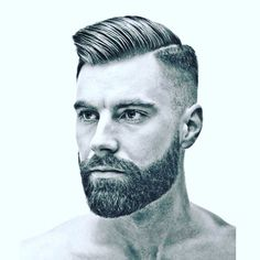 Ultimate style guide to get the perfect beard neckline. Trimming the beard neckline is one of the most important aspects of a good looking beard. Stylish Short Haircuts, Haircuts For Men, Bob Haircuts, Beard Styles For Men, Hair And Beard Styles, Short Beard Styles, Beard Neckline, Beard Haircut, Beard Game