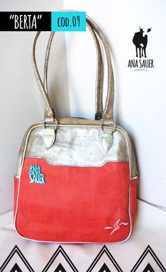 MODELO | Berta | 100% cuero https://www.facebook.com/anasauerhandbags?fref=ts