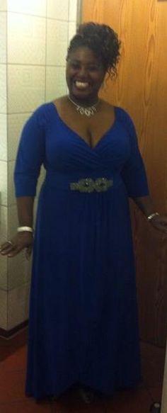 Stunning Deborah, In IGIGI gown