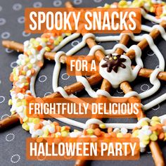 You can't have a Halloween party without delicious spooky treats!