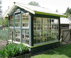 Adorable character outbuildings! | Funky Junk Interiors