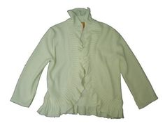 Ruby Rd Knitastic Long Sleeve Ruffle Front Cardigan Sweater Ruby Rd. $35.99