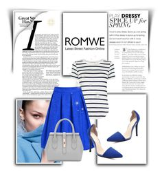 """""""Romwe 10/II"""" by nermina-okanovic ❤ liked on Polyvore featuring Oasis and romwe"""
