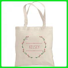 Floral Wreath Kelsey Bag: Liberty Bargain Tote Bag - Shoulder bags (*Amazon Partner-Link)