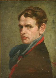self portrait by james sinton sleator