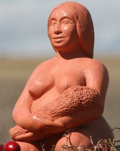 Ker the Mother by Karen Mander Sculpture, Statue, Abundance, Sculpting, Sculptures