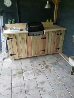 Tuin barbecue. @marcbakker