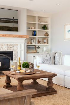 living room | REEF Cape Cod's Home Builder