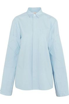 Marni - Cotton Jacket - Sky blue - IT