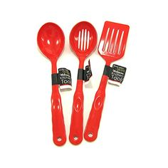 Handy Helpers Red Kitchen Tools Assorted