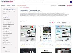Choisir un theme PrestaShop #themeprestashop #prestashop #templateprestashop Front Office, Software, Computer Science, Self Confidence