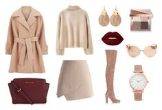 """""""Sem título #27"""" by paula-marques-1 on Polyvore featuring moda, Chicwish, WithChic, 2NDDAY, Gianvito Rossi, MICHAEL Michael Kors, Alexis Bittar, Larsson & Jennings, Bobbi Brown Cosmetics e Lime Crime"""