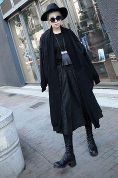Aliexpress.com: Compre Primavera Cardigan solto de mangas compridas longo velo mulheres Shirt da forma das mulheres blusa longa camisa preta de confiança blusa preta fornecedores em Top Stylish Store