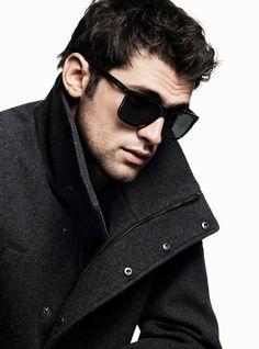 Beautiful men — uberhommes:   Sean O'Pry for DKNY Men Fall/Winter...