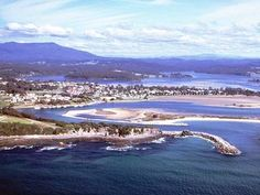 Narooma, on the NSW Coast. NEW SOUTH WALES: