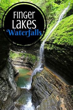 The Finger Lakes are 11 glacial lakes, all of which are shaped like fingers, located in the central region of New York state. The region is perhaps best known for its impressive gorges, which were shaped by water and ice over some 10,000 years. As the rain water flowed down these steep cliffs, it formed hundreds of Finger Lakes waterfalls that you'll find dotted all around the area.