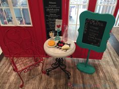 This American Girl Grace's Bistro Set project was Fun! I love how this came out! It also saved me a lot of money! It is nice when a project comes together.
