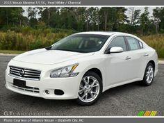 White Nissan Maxima 2012-2013